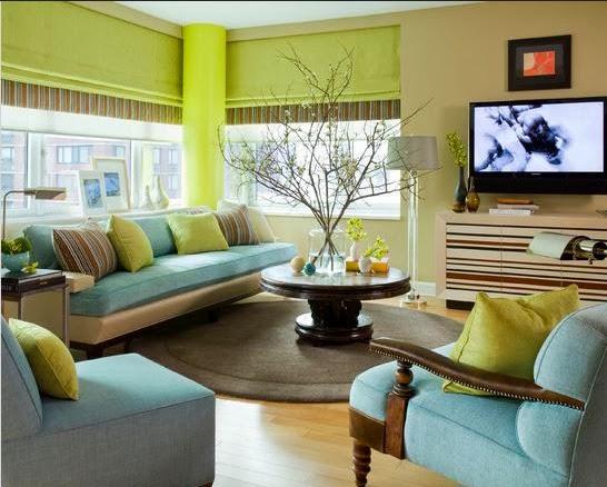 Rumah Impian Sederhana Warna Cat Ruang Tamu Yang Cantik