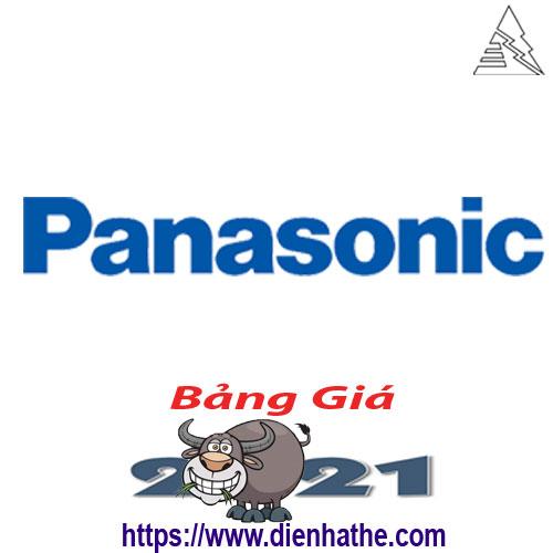Bảng Giá Thiết Bị Điện Panasonic 2021