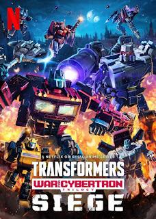 Transformers Trilogia de la guerra por Cybertron Asedio Temporada 2