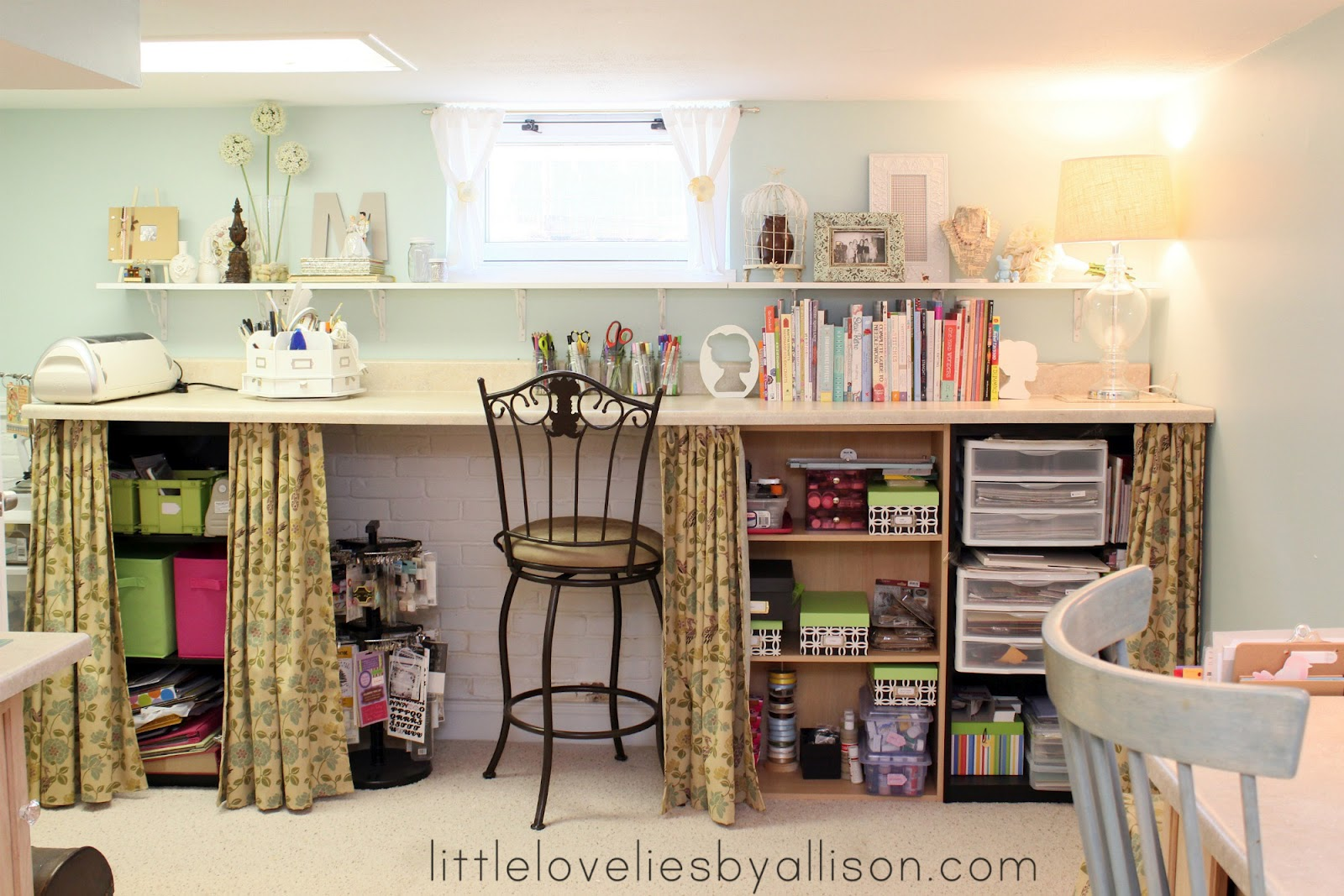 Storage For Craft Room: Little Lovelies: Craft Room Follow Up