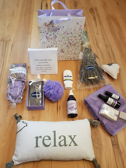 Lavender spa package at The Camellia