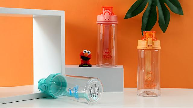Cookie Monster water bottles