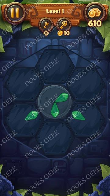 Gems & Magic [Emerald] Level 1 Solution, Walkthrough, Cheats