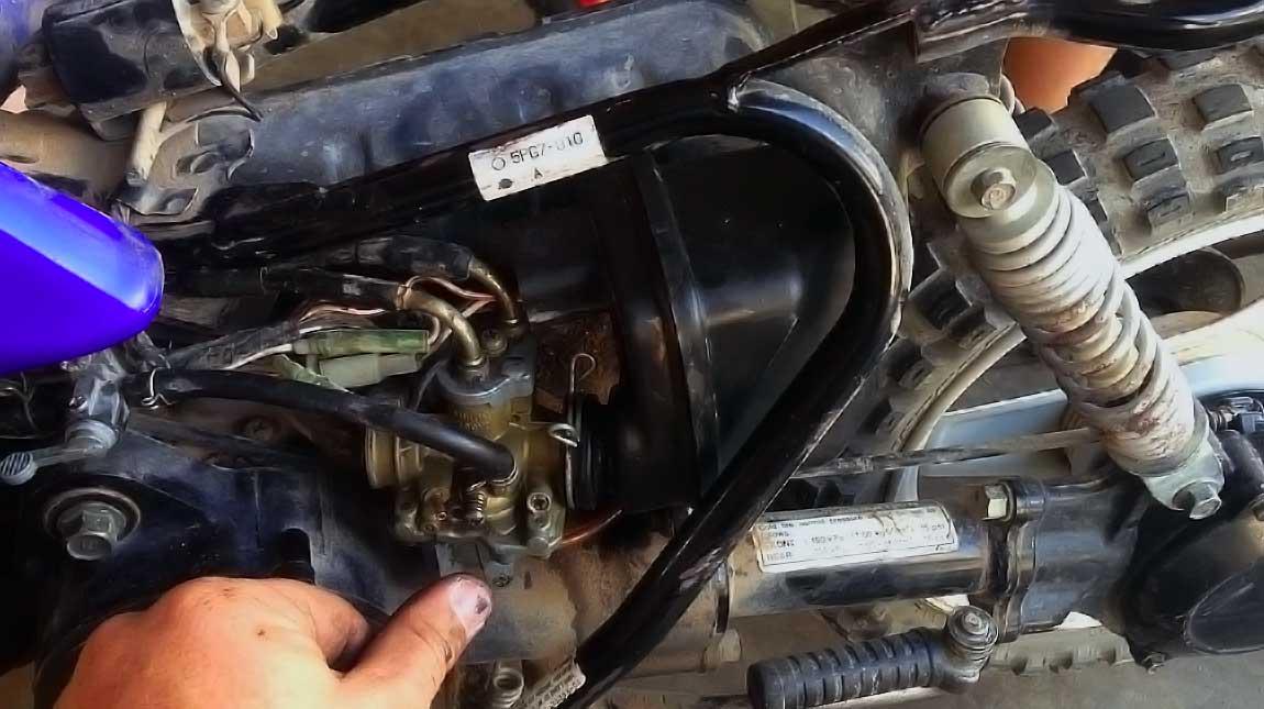 Yamaha Pw50 Carburetor Removal
