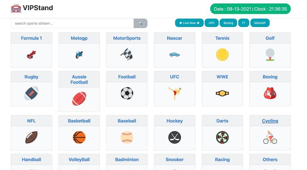 13 Best VIPStand Alternatives to Enjoy Live Sports Streams [NFL, NBA, Golf, WWE & Football ⚽]