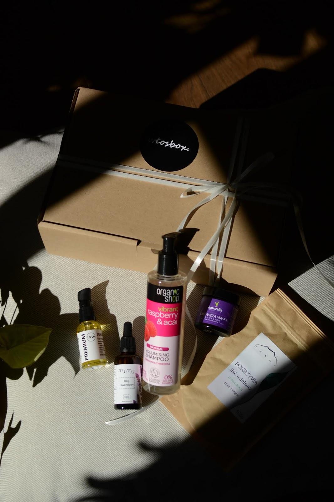 Zawartość Wrześniowego Włosbox + Włosowe SPA kosmetykami z Włosowego pudełka