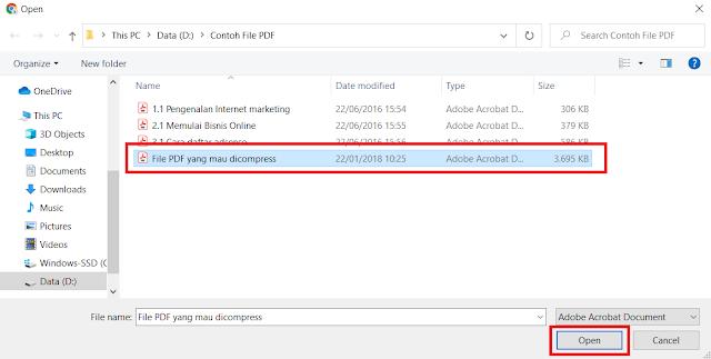 Cara Mengecilkan Ukuran File PDF (Compress PDF) Hingga 89% Lebih Kecil Dari Ukuran Aslinya