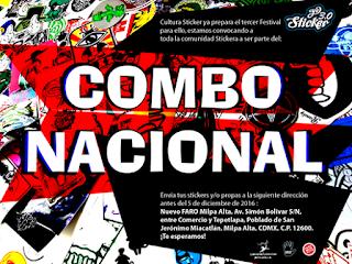 convocatoria de cultura sticker para el combo nacional