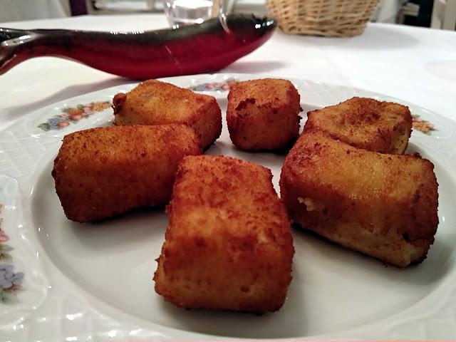 croquetas de cocido gallego restaurante mar de ardora