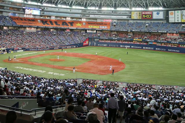 オリックス・バファローズ観戦 <京セラドーム大阪>