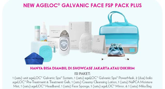Promo Galvanic Spa Nu Skin September 2020