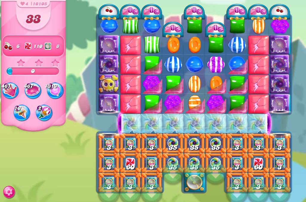 Candy Crush Saga level 10105
