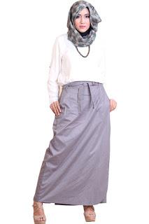 Gambar Distributor Rok Celana Rania Grey