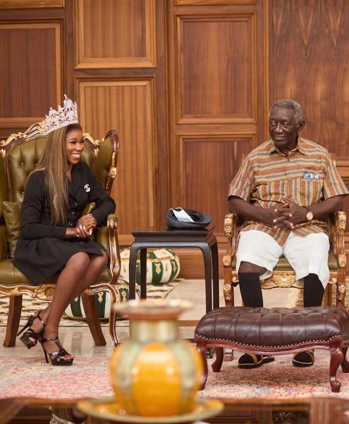 Kuffour, Mahama endorse Chelsea Tayui's Autism campaign