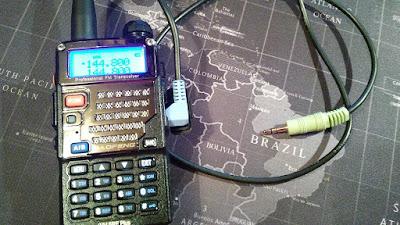 Baofeng and audio lead