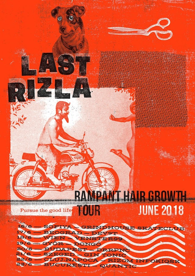 [News] Last Rizla on 'Rampant Hair Growth Tour' [June 2018]