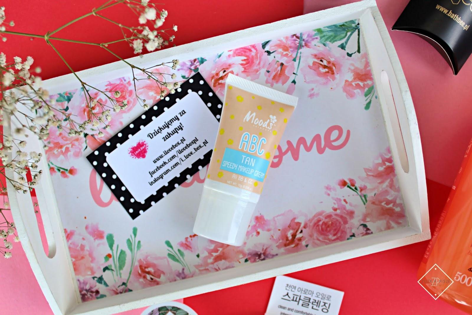 Moods ABC Speedy Makeup Cream nawilżający krem BB do twarzy Tan