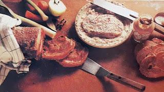 Griljerad oxbringa med ansjovissås klassiskt recept