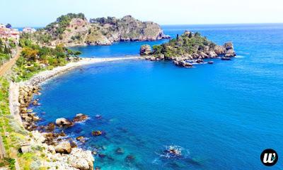 Isola Bella beach, Taormina | Sicily, Italy | wayamaya