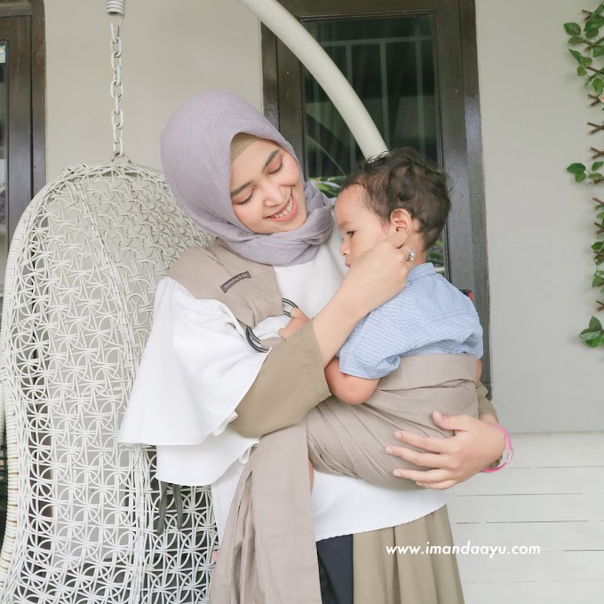 Membangun Bonding Bersama Si Kecil dengan Gendongan Tweeling & Co