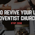 How to Revive your Local Adventist Church: Step Zero
