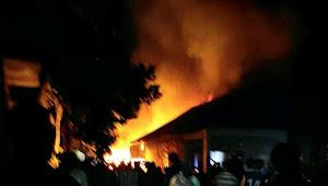 Hot News !! Lagi-lagi Rumah di Kayu Aro Terbakar