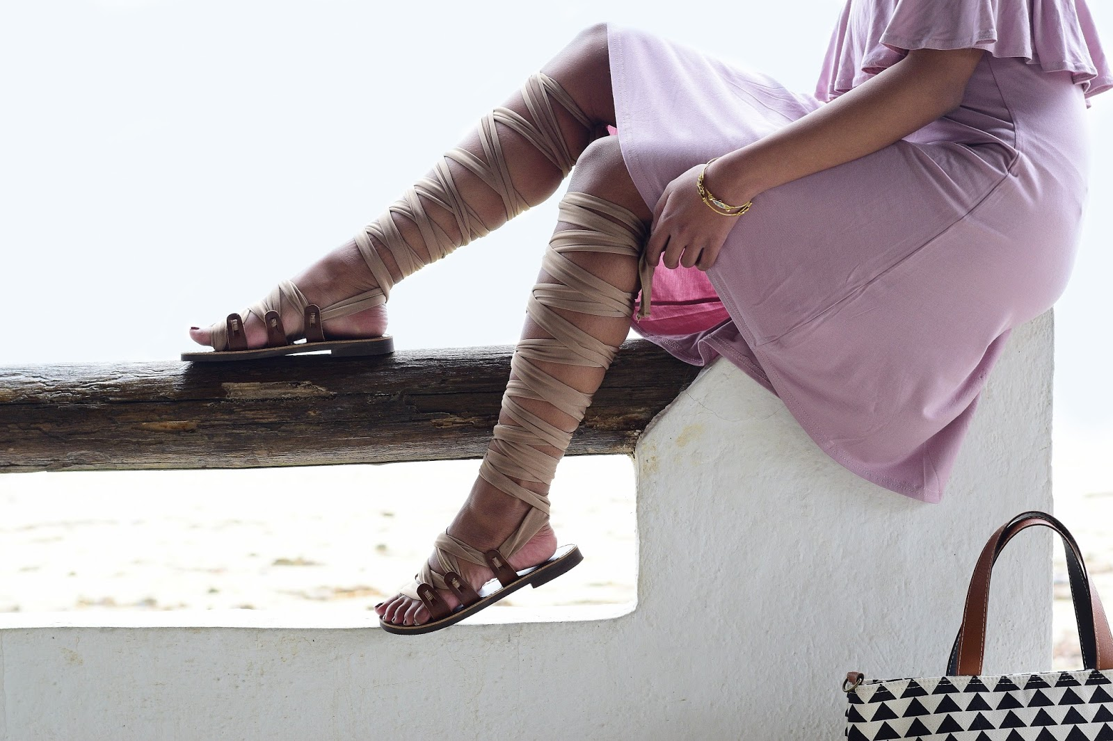 handmade gladiator sandals from greece