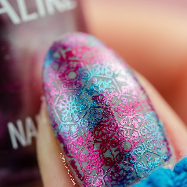 """Colour Alike """"Chrome"""" stamping polishes swatches"""