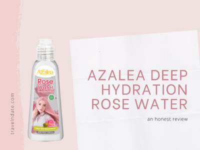 ulasan AZALEA DEEP HYDRATION ROSE WATER