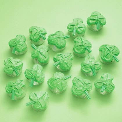 Clover Cupcakes Recipe