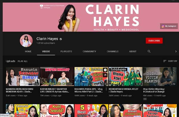 channel youtube kesehatan