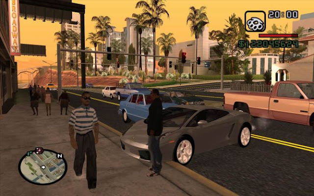 تحميل لعبة gta san andreas للكمبيوتر كاملة من ميديا فاير
