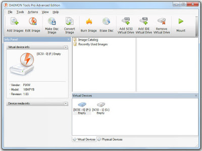 Screenshot DAEMON Tools Pro 8.2.1.0709 Full Version