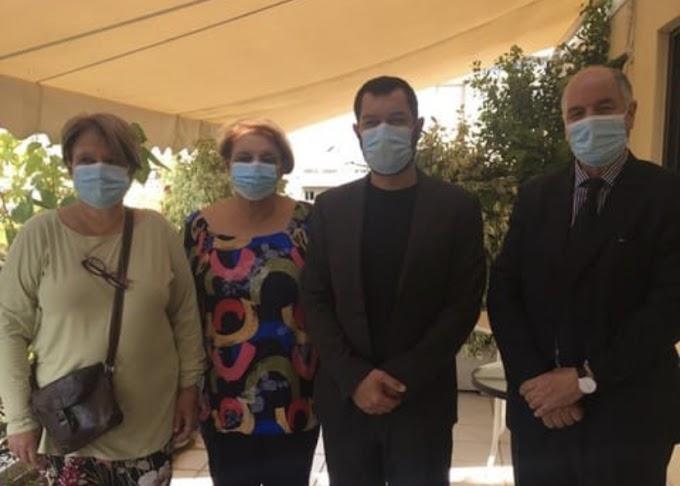 نائب ممثل الجبهة بأوروبا يجري مباحثات مع قيادات حزب سيريزا اليوناني مبعوثا من السلطات الصحراوية.