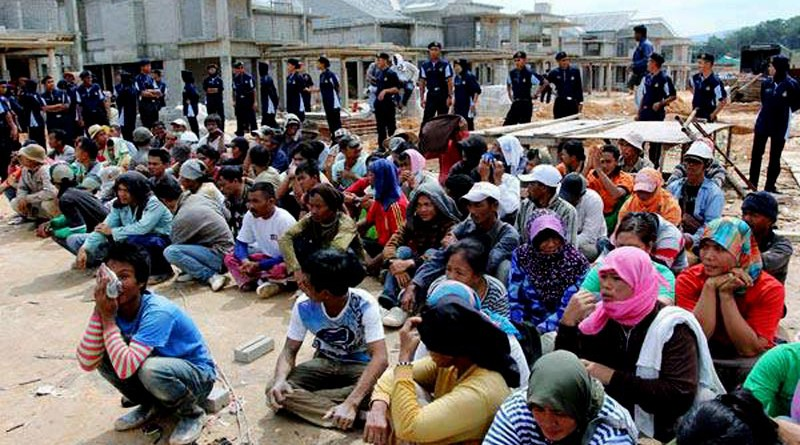 TKI yang ditahan di Malaysia