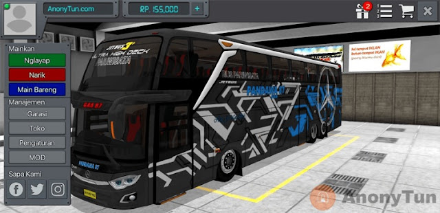 MOD BUSSID UHD Shiver Zwin
