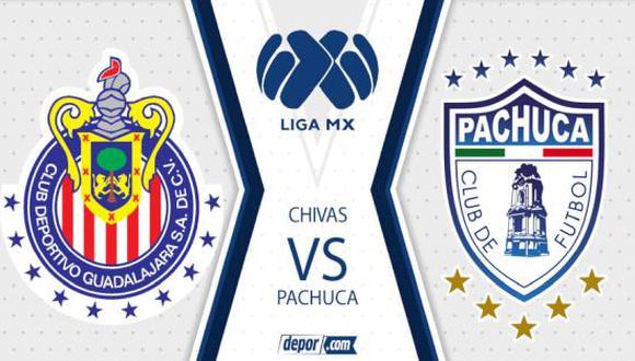 MIRA HOY, Chivas vs. Pachuca EN VIVO: ver transmisión ONLINE por la fecha 9 de la Liga MX 2021