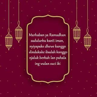 bulan puasa ramadhan bahasa jawa