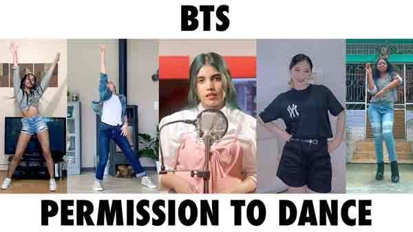 aish permission to dance bts