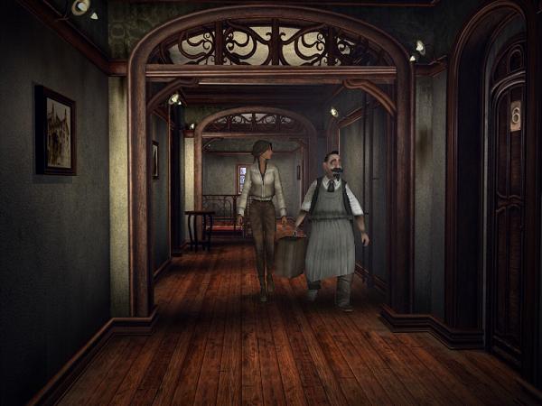 портье в гостинице показывает комнату кейт в игре сибирь
