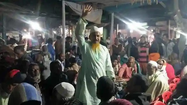 ঘাটাইলে চেয়ারম্যান পদপ্রার্থী সুজাত আলী খানের  সমর্থনে চা চক্র