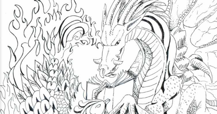 Lunanshee's Lunacy: 10 Coloring Pages Inspired by YA Lit