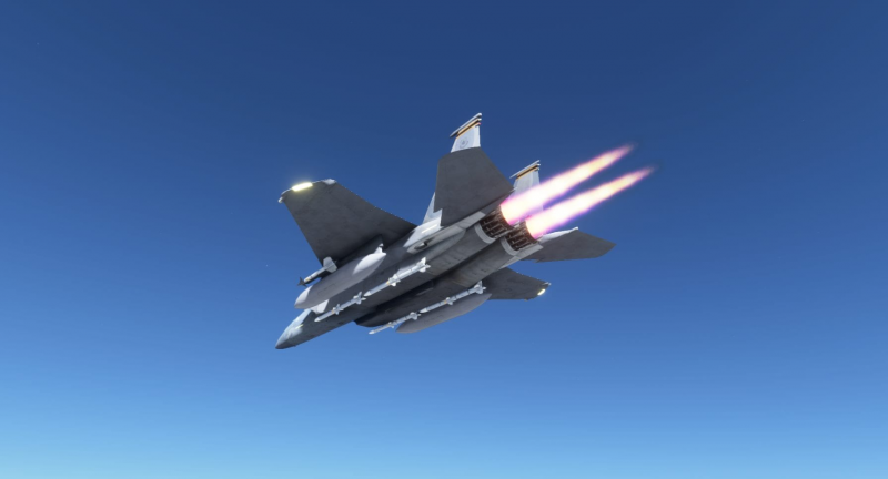 F-15 for Microsoft Flight Simulator