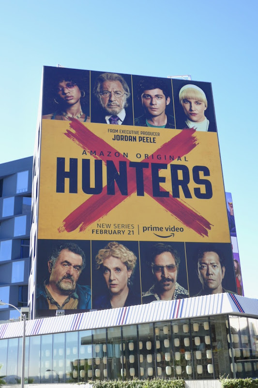 Giant Hunters series premiere billboard