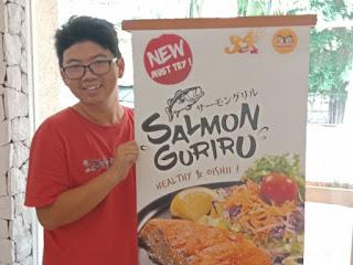 Salmon Guriru Menu Sehat HokBen