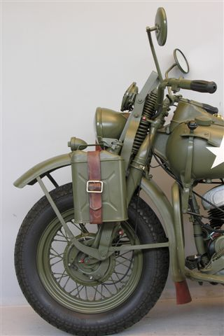[Photos] Harley Davidson Military WLA 1942 750cc