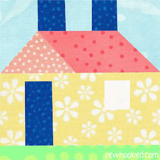 Quilt Inspiration: Free pattern day! House quilts : quilt house patterns - Adamdwight.com