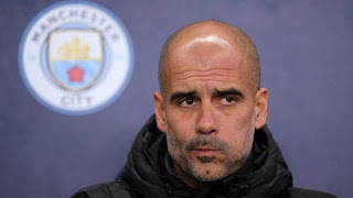 Guardiola offers no excuses for draw; refuses to be drawn on title race