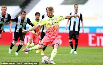 Video Newcastle 0-2 Man City: 2 lần may mắn, đoạt vé đấu Arsenal