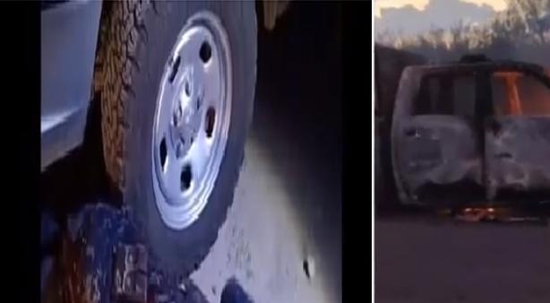 Video; ¡ Me acaban de emboscar! ; Son arriba de 50 Camionetas